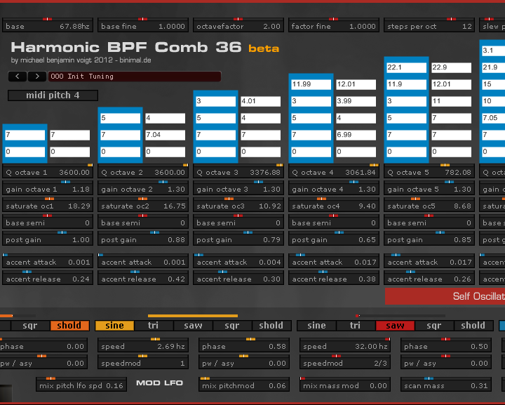 harmonic bpf comb screenshot